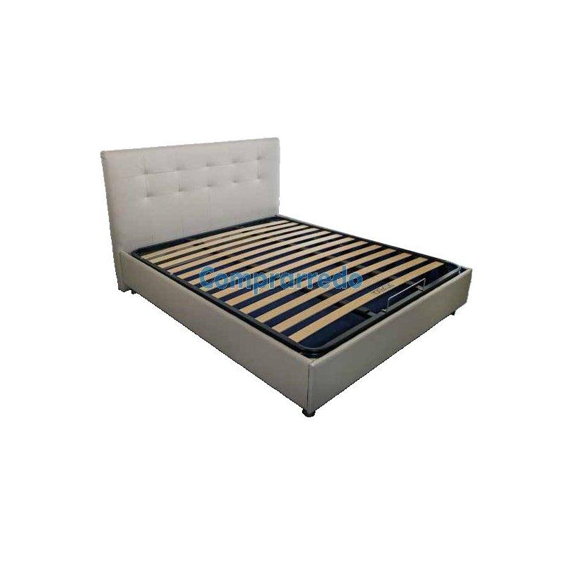 Letto con contenitore ampio e spazioso con rete a doghe - Rete a doghe per letto contenitore ...