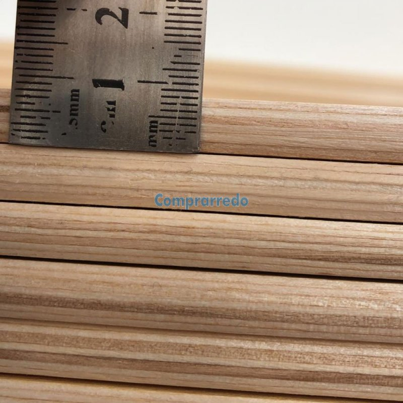 Doghe di ricambio flessibili in legno di faggio per reti ortopediche