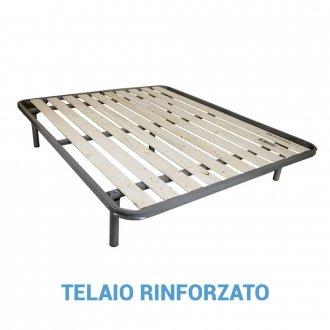 Rete ortopedica a tavole verticali con telaio rinforzato