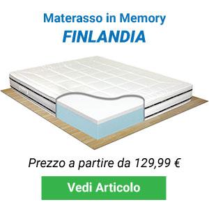 Materasso memory foam Finlandia Comprarredo