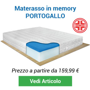 Materasso memory Portogallo Comprarredo