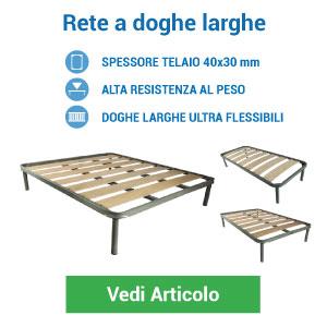 Rete a doghe larghe in legno di faggio