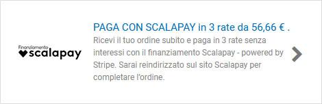 Metodo di pagamento Scalapay